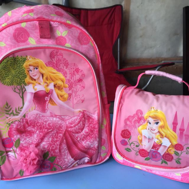 cd55816ee99 Best Princess Aurora Backpack And Lunch Bag. for sale in Sherwood Park