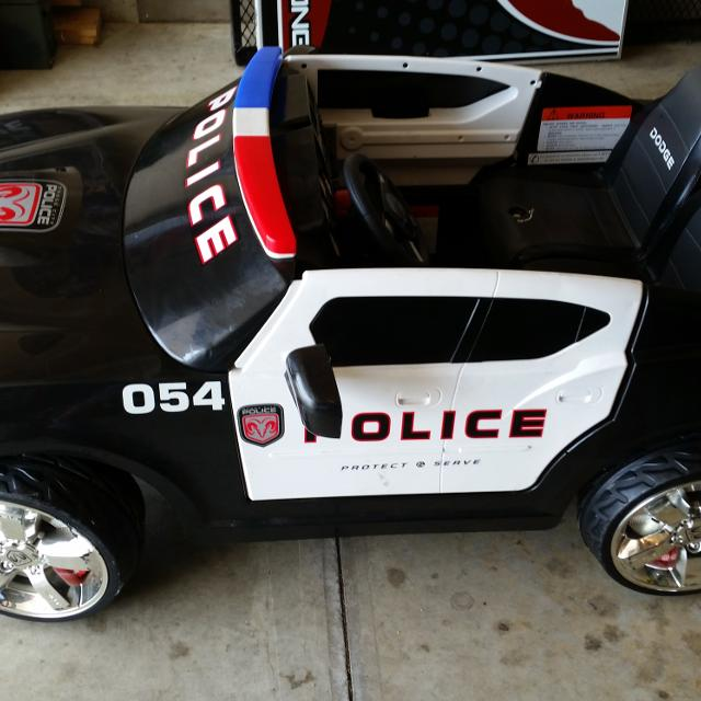 Find more Power Wheels Dodge Charger Police Car for sale at up to