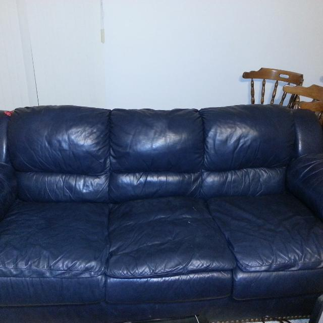 Best Sealy Leather Furniture Set. 3pc for sale in St. Cloud ...