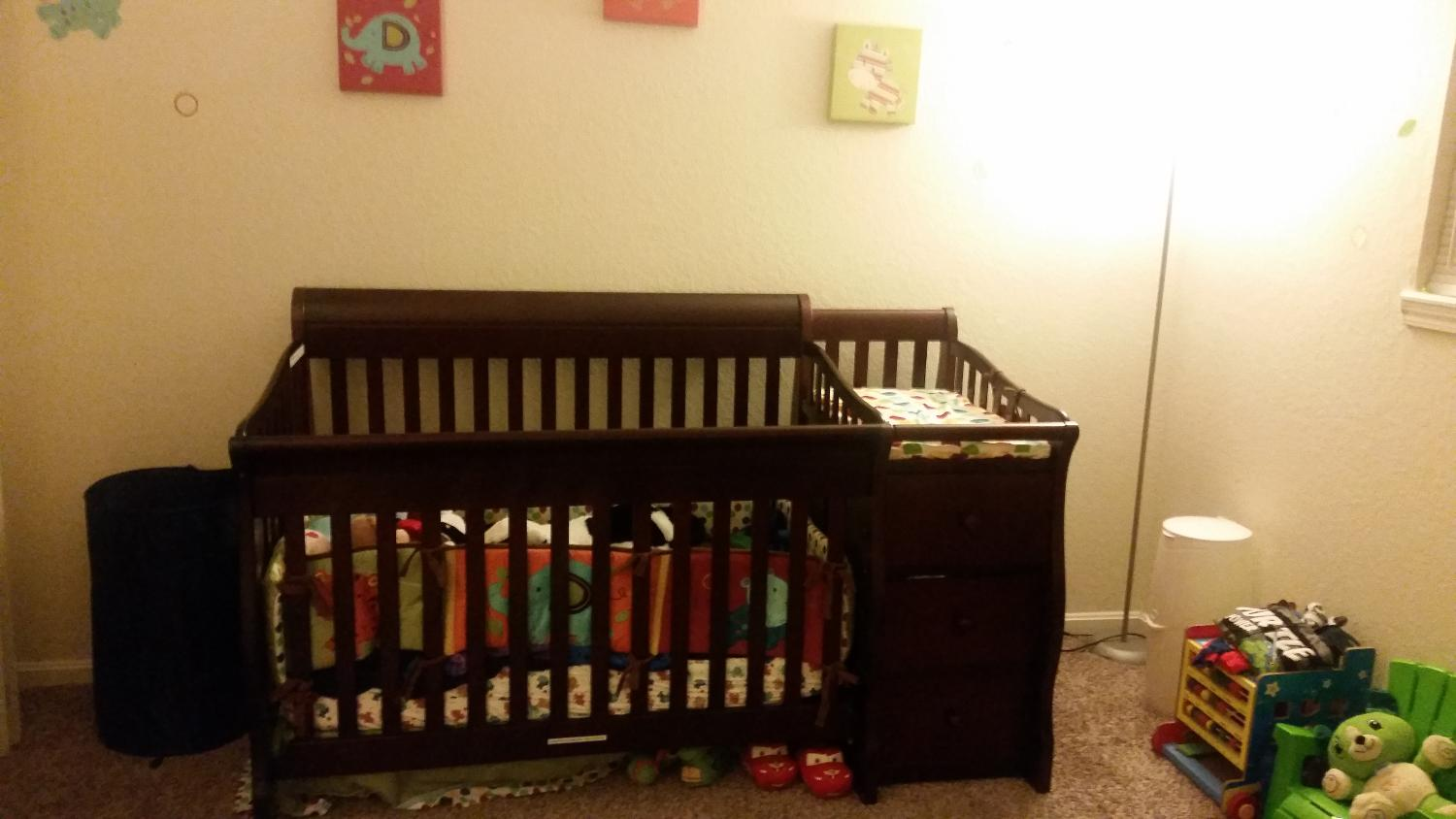 Crib for sale louisville ky - Best 4 In 1 Baby Bed Like New Sorelle Princeton 4 In 1 Convertible Crib For Sale In Louisville Kentucky For 2017