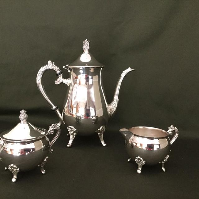 Find more 3 Piece Leonard Silver Plated Coffee/tea Set. Made In Usa ...
