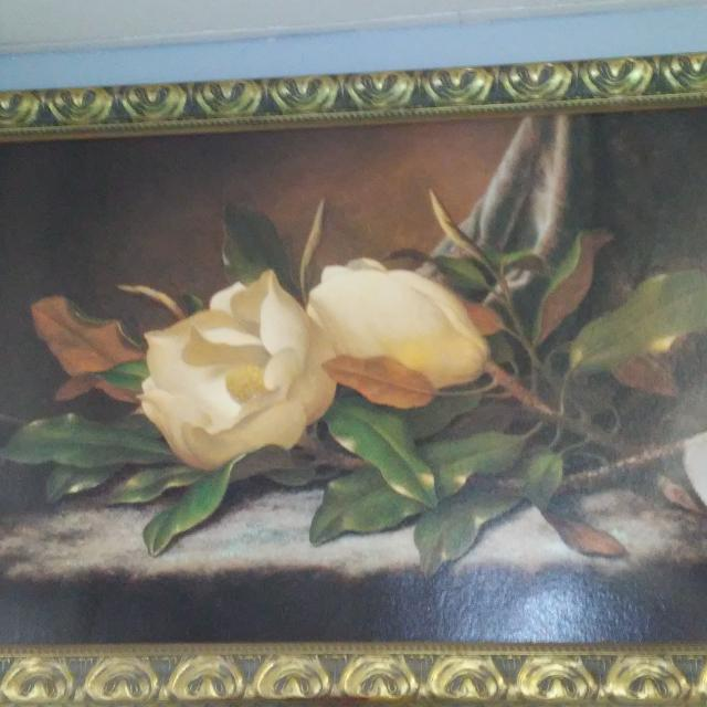 Best Cedar Creek Large Magnolia Flowers Wall Painting For Sale In