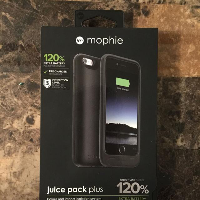 on sale f60e5 f60eb *REDUCED* Mophie Juice Pack IPhone 6 case. 120% lvl 3 version Brand new.  Never been opened. Retail 119.99+tax Best buy/ Amazon etc.