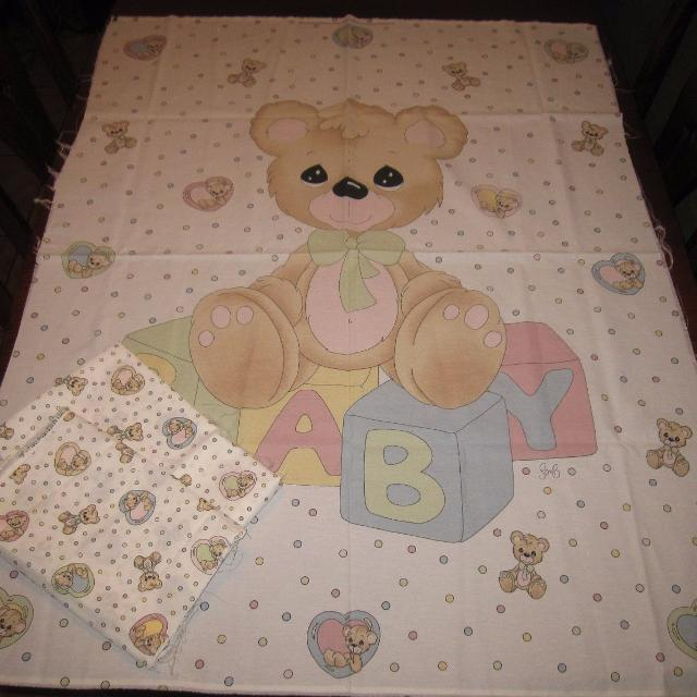 Find more Precious Moments Teddy Bear Fabric Panel Quilt / Wall ... : precious moments quilt - Adamdwight.com