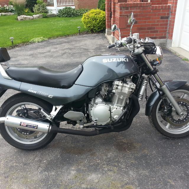 Nice Suzuki 1991 GSX 1100 G