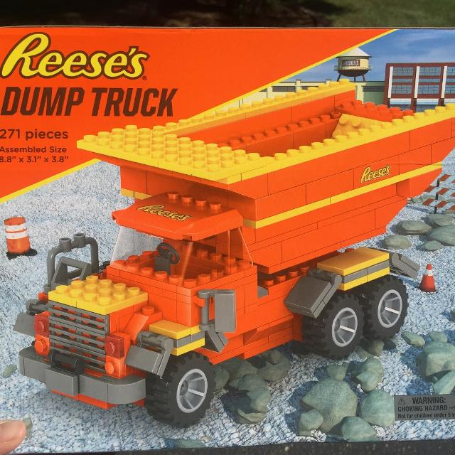 Find More Reeses Lego Type Dump Truck Nib For Sale At Up To 90 Off