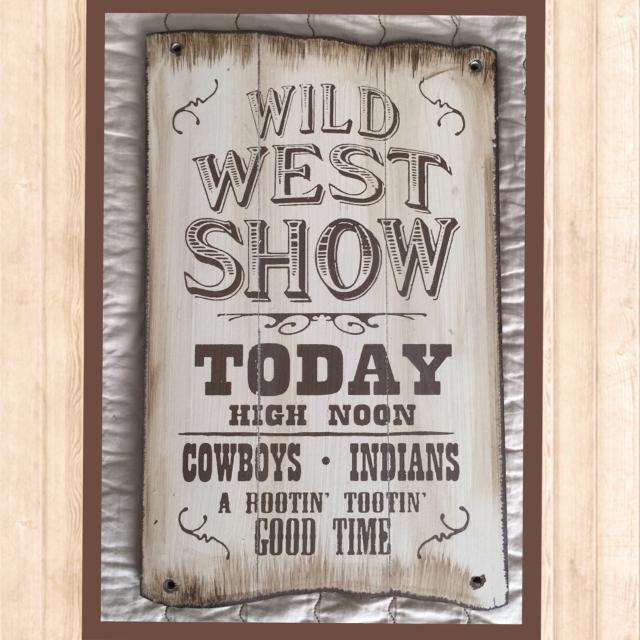 Find more Labor Day Sale! Land Of Nod Wall Art - Wild West for sale ...
