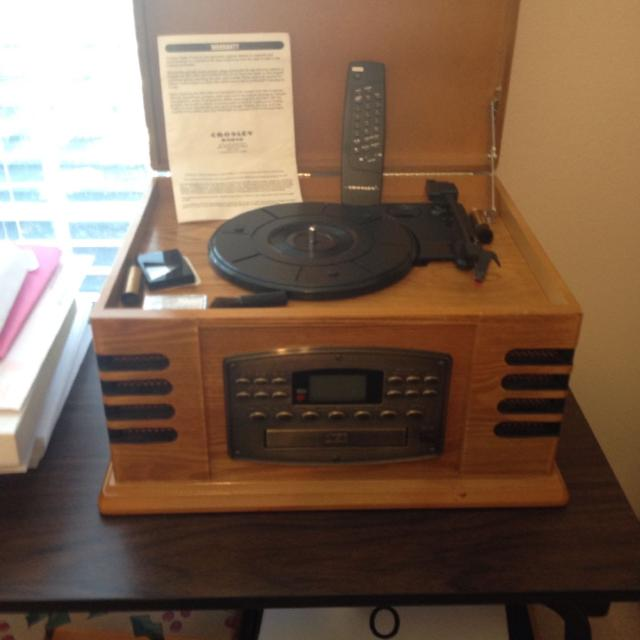 crosley 4 in 1 record player instructions