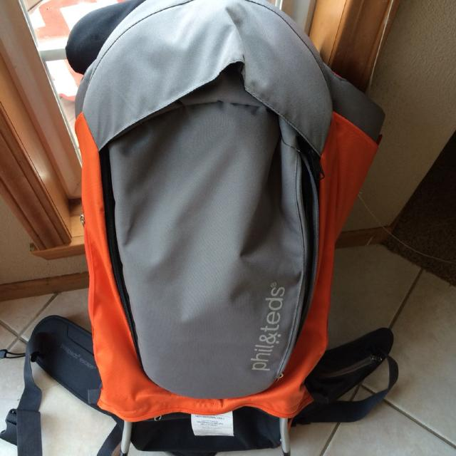 2ed449dd831 Find more Phil   Teds Escape Backpack Carrier.  75 for sale at up to ...
