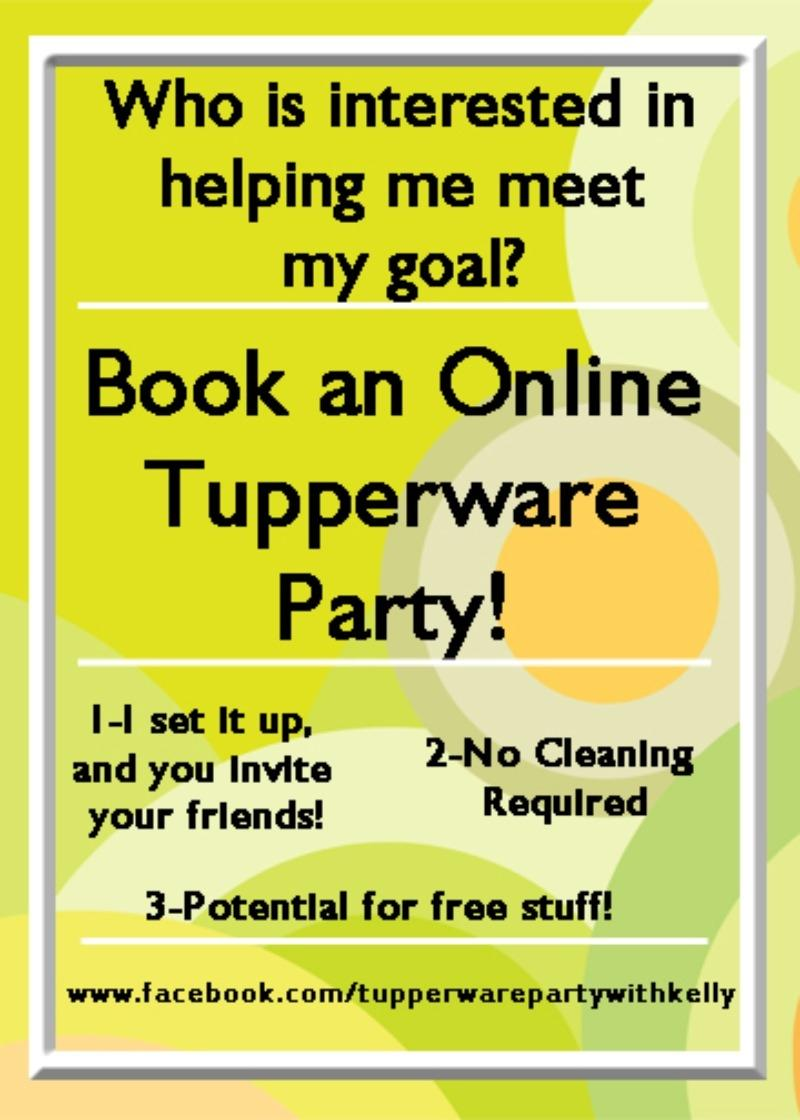 Tupperware Party with Kelly in Wiggins, Mississippi for 2018