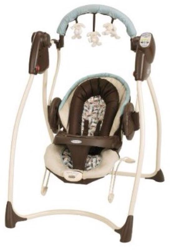 Graco 2 In 1 Swing Bouncer With Plug Carlisle Euc Only Used A Couple Of Weeks