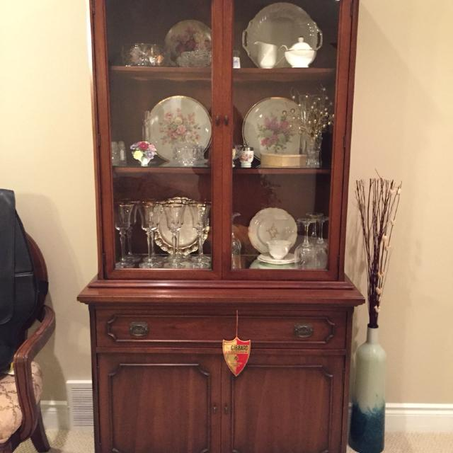 Gibbard Furniture Mahogany Buffet And Hutch