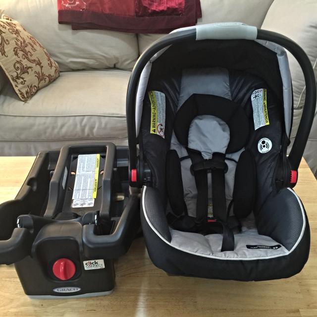 find more graco click connect 35 car seat with two bases for sale at up to 90 off. Black Bedroom Furniture Sets. Home Design Ideas