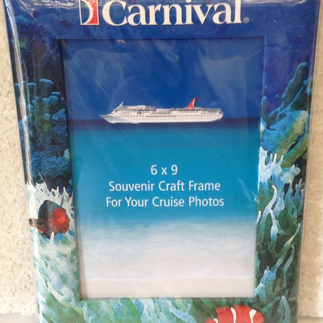 Best Carnival Cruise Lines Souvenir Craft Frame For Your Cruise