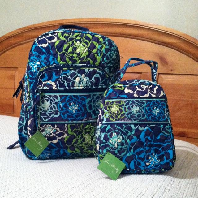 3f0850f31 Find more Vera Bradley Campus Backpack And Lunch Bunch In Newly ...