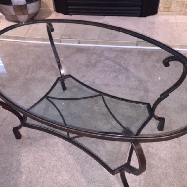Find More Pier Imports Chasca Coffee Table Price Drop For Sale At - Chasca coffee table