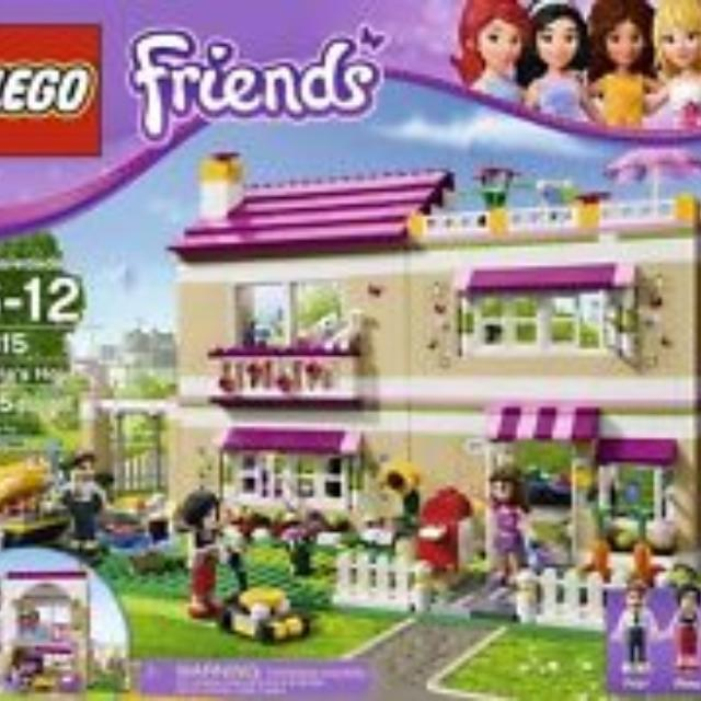 Find More Lego Friends 3315 Olivias House Instructions And