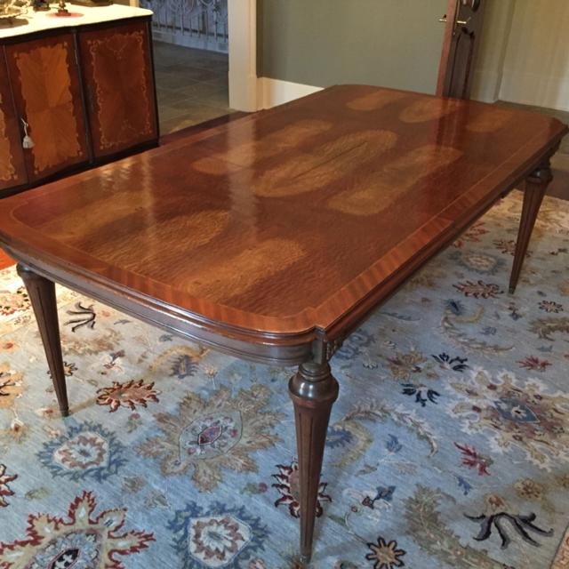 Find More Antique French Burled Walnut Dining Table For Sale At Up - Burled walnut dining table