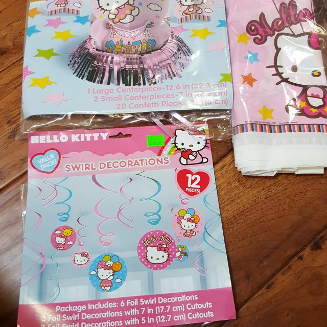 Best Hello Kitty Birthday Decorations 10 For Sale In Victoria
