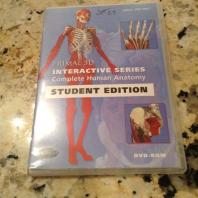 Find More Primal 3d Interactive Series Complete Human Anatomy