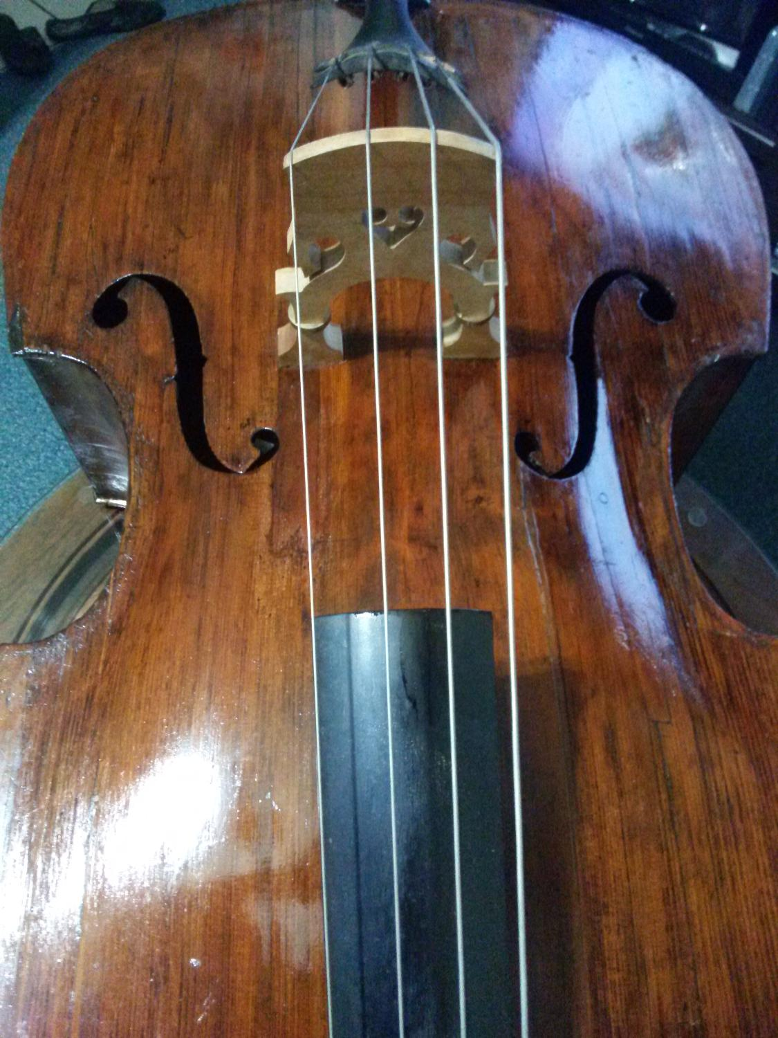 best 3 4 upright double bass vintage herold jaeger bass from 1940s for sale in volusia florida. Black Bedroom Furniture Sets. Home Design Ideas