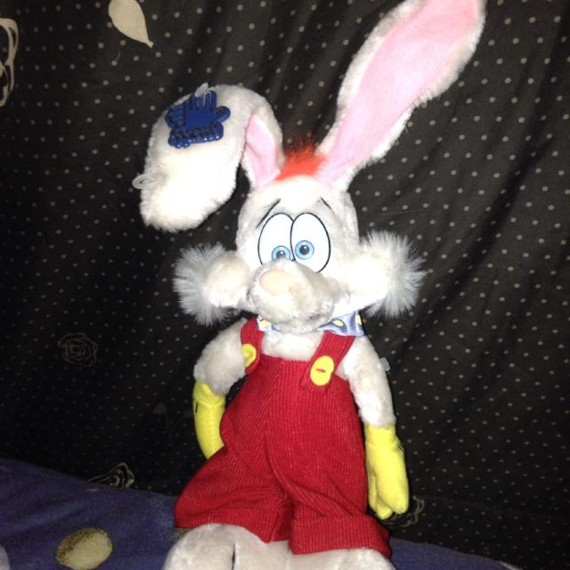 Best Roger Rabbit Applause Plush 10stuffed Toy Vintage Collectible