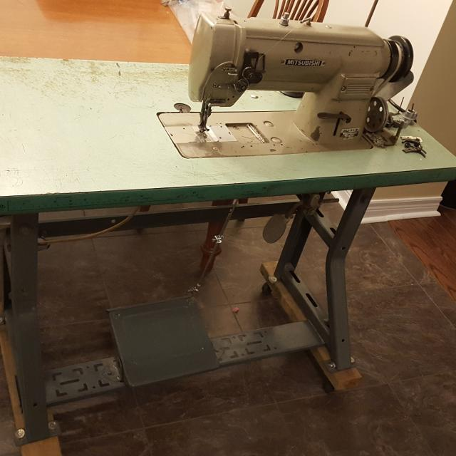 Best Mitsubishi Walking Foot Sewing Machine For Sale In Clarington Adorable Mitsubishi Sewing Machine For Sale