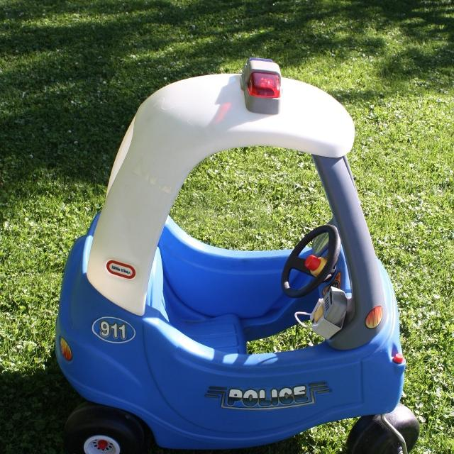 Find More Little Tikes Cozy Coupe Police Car For Sale At