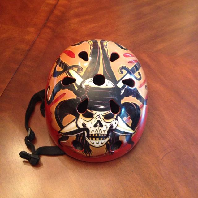 37608968117 Best Disney Pirates Of The Caribbean Bike Helmet Sz Youth. Farragut.  Excellent Condition. Inside Like New.  6 for sale in Karns