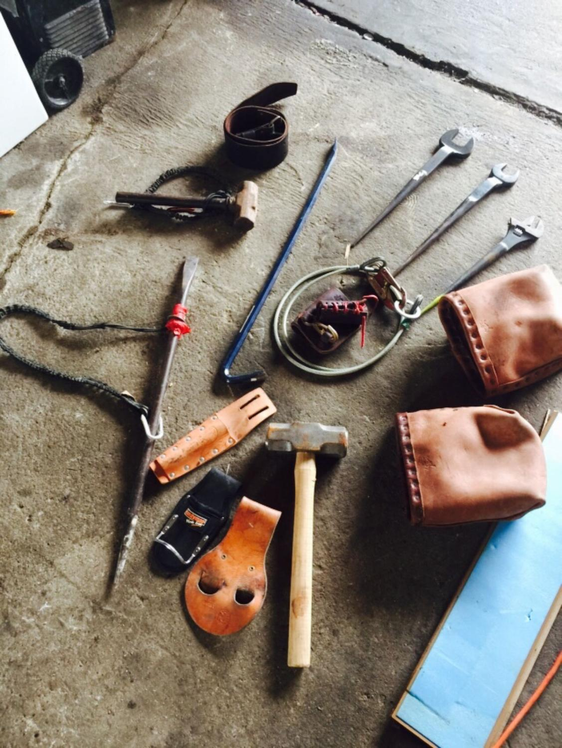 Ironworker tools like new, make an offer
