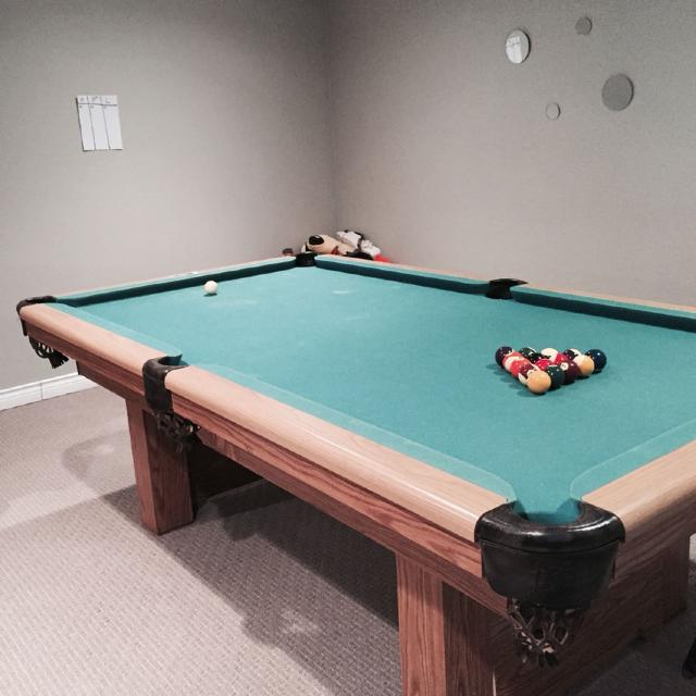 Find More Dufferin Slate Pool Table Free If You Move It Out Of My - How to move a slate pool table