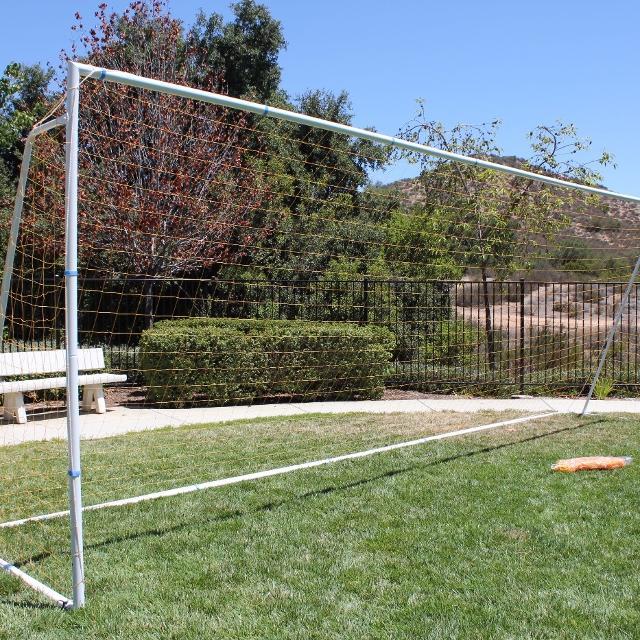 Soccer Goals For Sale >> 24 X8 Regulation Soccer Goal 2 Orange Nets Included U14 U16 U19 Tournament Approved 8 X24 Steel Goals Fifa Size Goal