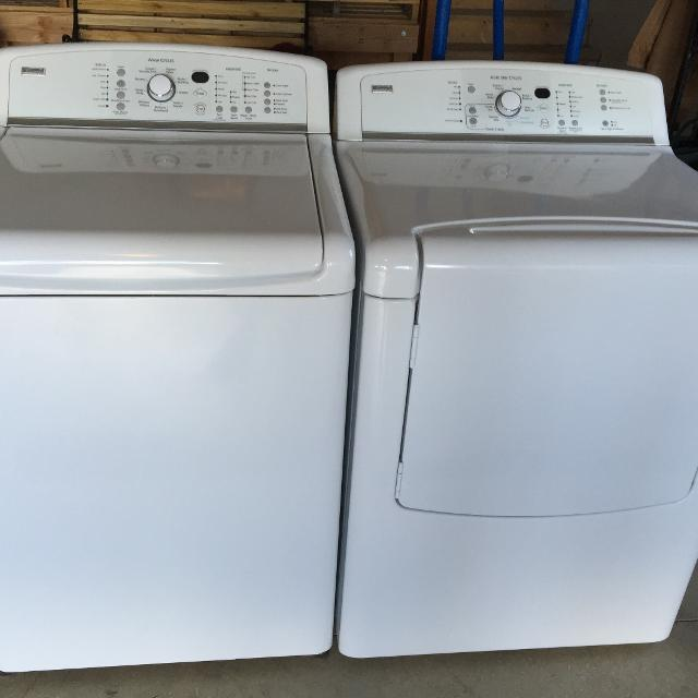 Kenmore Elite Oasis Washer And Dryer Excellent