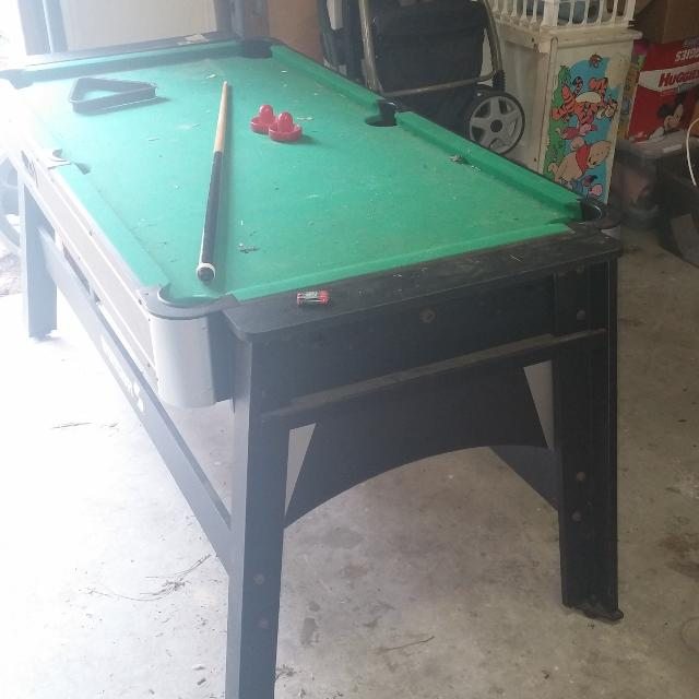 Best Pool Table Turns Into Air Hockey Table Selling For Has - Pool table pick up