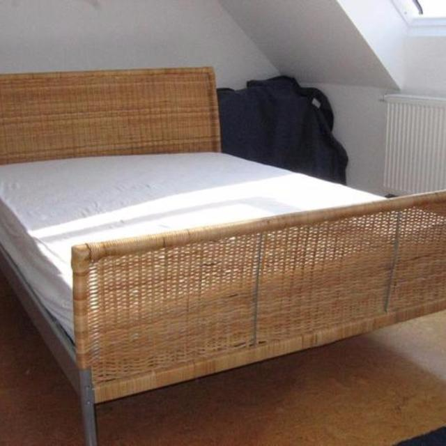 Find More Free Ikea Dokka Queen Sized Wicker Rattan