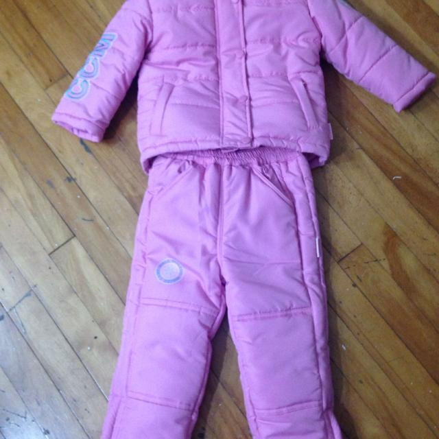 0a279377f Find more Ccm Snow Suit And Scarf! Only Wore A Couple Times. Size 3t ...