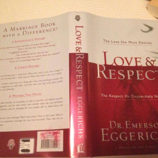 Find More Book Love Respect By Dr Emerson Eggerichs Helps