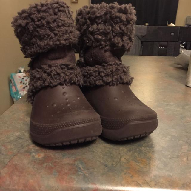 004677e85ae77 Find more Crocs Nadia Boots Size 8 9 Toddler for sale at up to 90% off