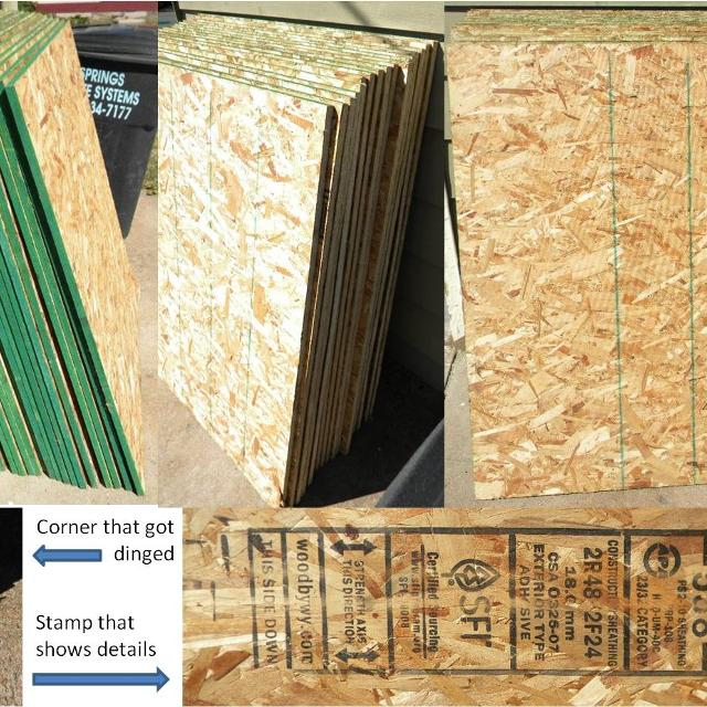 Find more 9 Partial 40 X 48 Sheets 3/4\