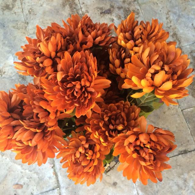 Best Silk Flowers From Hobby Lobby Various Fall Colors For Sale In