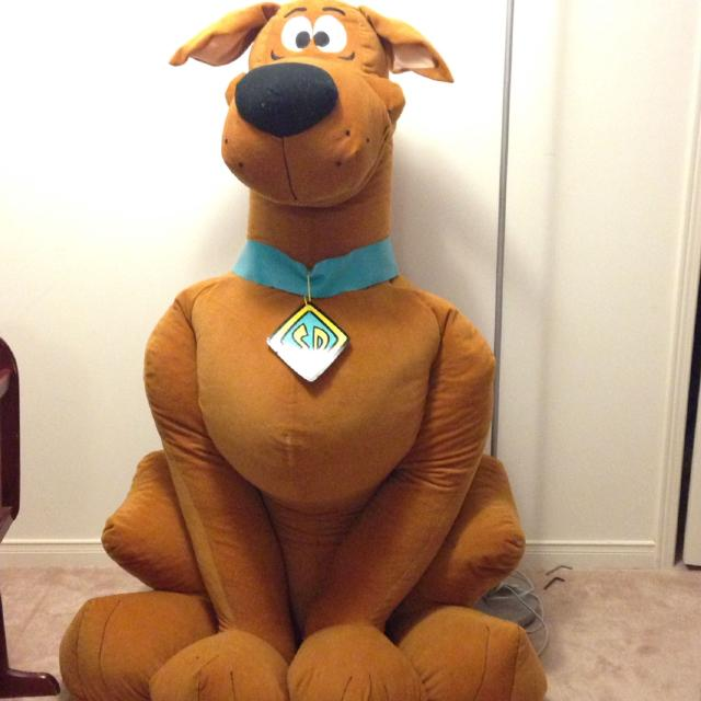 Find More Huge Stuffed Scooby Doo More Than 5 Feet Tall For Sale At
