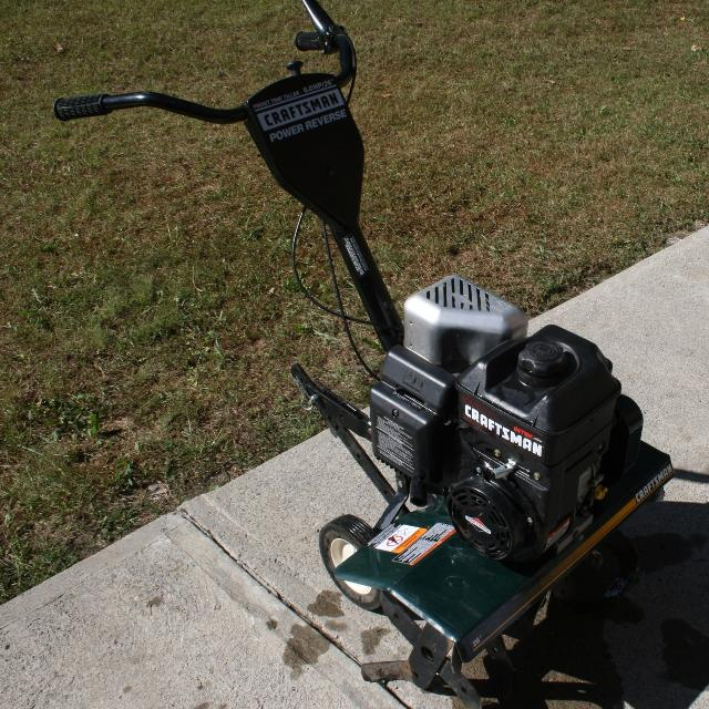 6 Hp Sears Craftsman Front Tine Tiller With Reverse