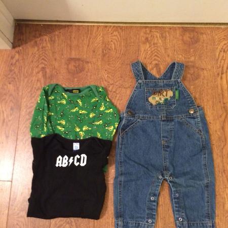 Used, John Deere overalls / onsies - baby... for sale  Canada