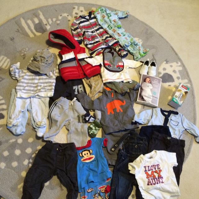Find More Baby Boy 30 Piece Clothes 0 3 And 3 6 Months Gap Old