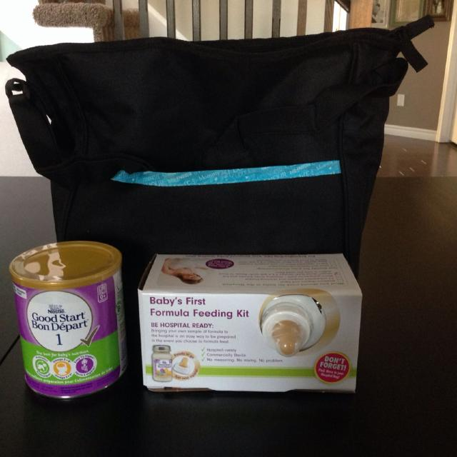 Nestle Diaper Bag