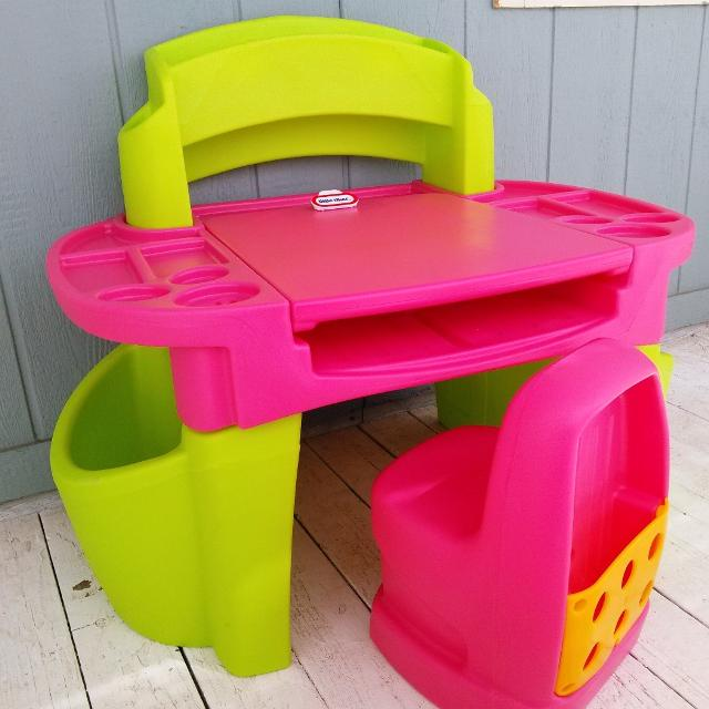 Find more Large - Little Tikes Pink Design Master Studio Desk W ...