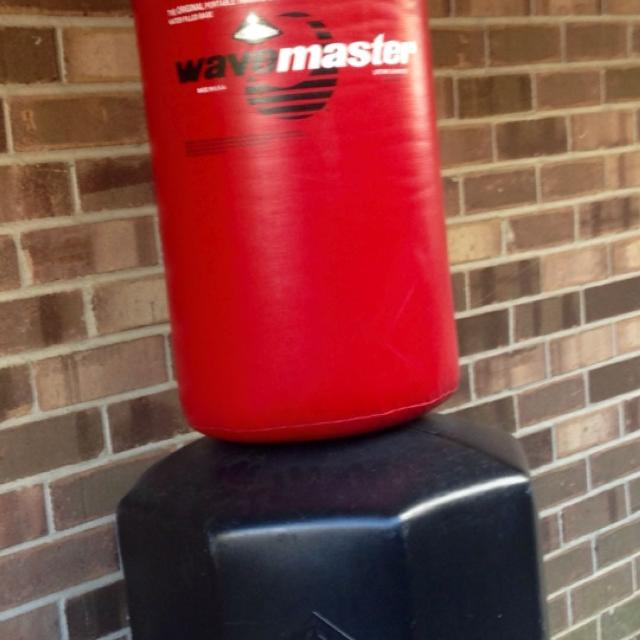 Wave Master Punching Bag With Water Filling Base