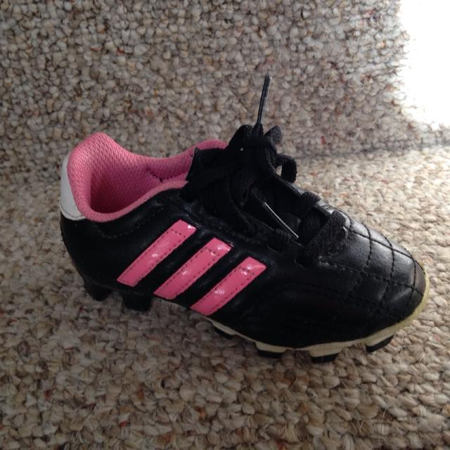 7716738f0a08f Find more Adidas Girls Soccer Cleats - Size 8-1/2 (toddler) for sale ...