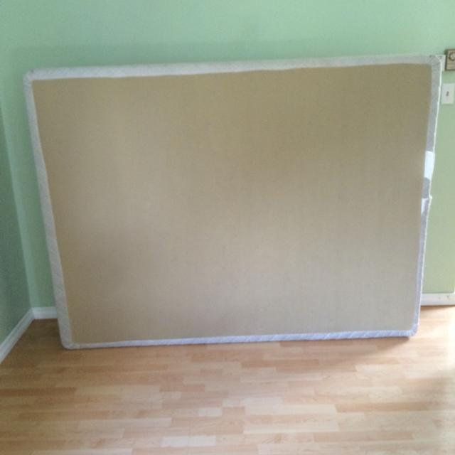 Find More Queen Size Box Spring Used Twice For Sale At Up To 90 Off