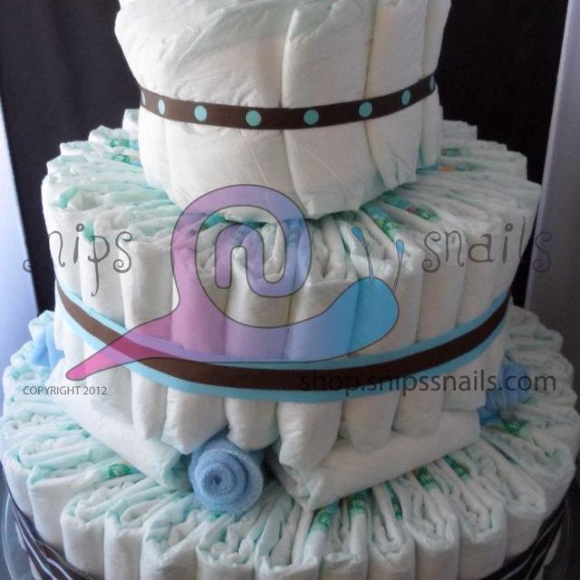 Best 3 Tier Diaper Cake With Wine Bottle Holder For Sale In Didsbury Alberta 2019